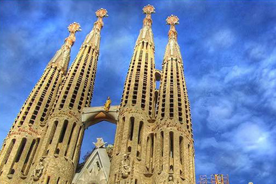 A look at the Sagrada Familia