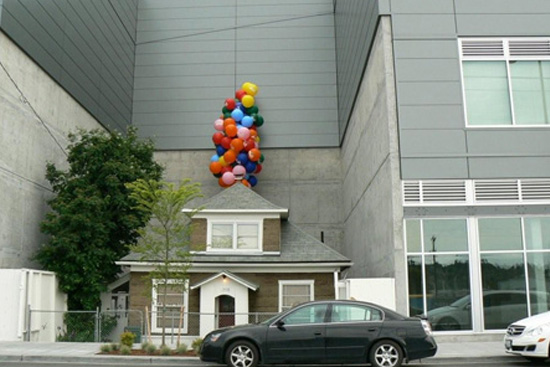Real life house from the movie 'Up'